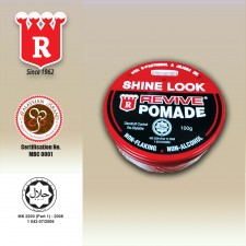 Revive Pomade Shine Look