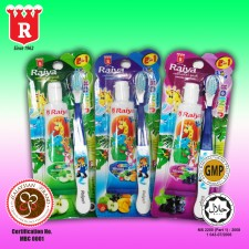 Raiya Junior 50gm toothpaste with toothbrush