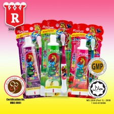 Raiya Junior 75gm toothpaste with toothbrush