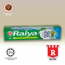 Raiya Go Fresher  Ice Cool Mint Toothpaste With Toothbrush