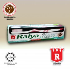 Raiya Go Fresher Tea Tree Oil Toothpaste with Toothbrush 160gm