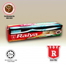 Raiya Miswak/Kayu Sugi Toothpaste with Toothbrush 160gm