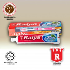 Raiya Go Fresher Fluoride Toothpaste (With Toothbrush)
