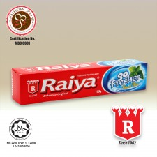 Raiya Go Fresher Fluoride Toothpaste (Natural Mint Flavour)